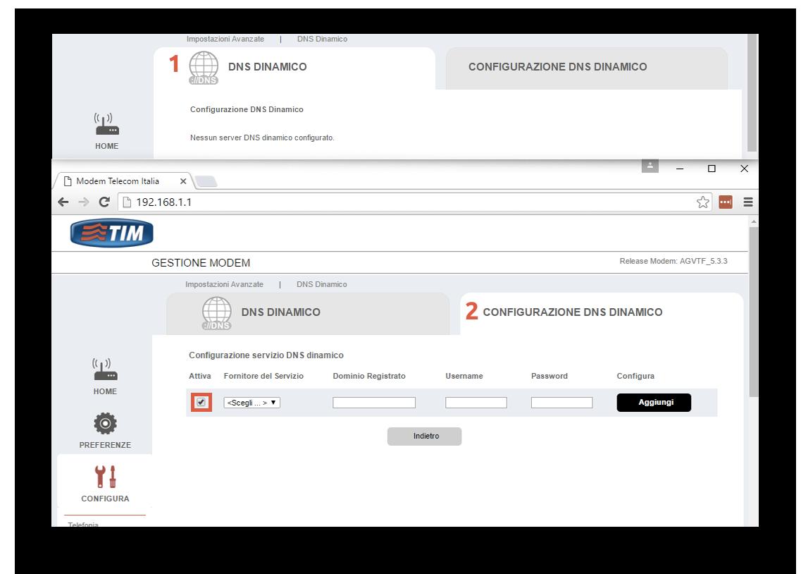 Configurazione dynDNS.it per Telecom/Tim - dynDNS.it - DNS dinamico gratuito