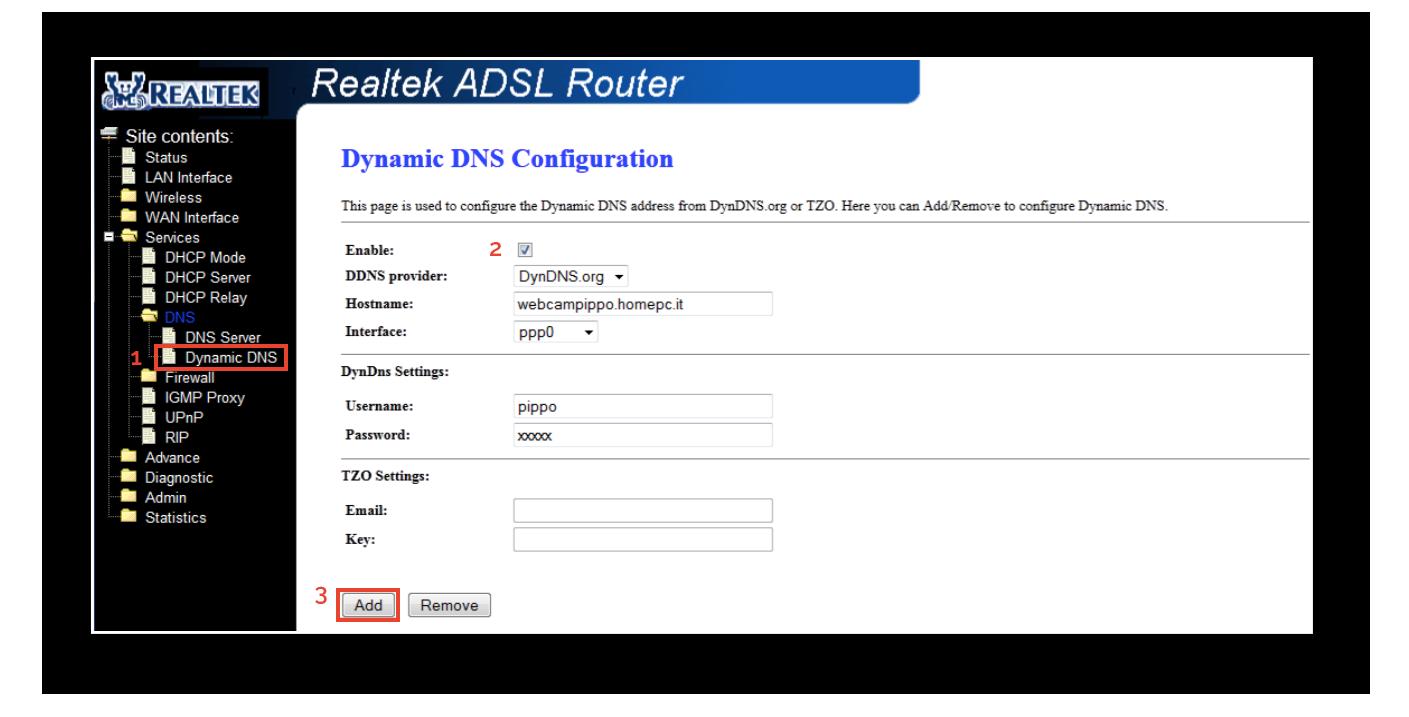 Configurazione dynDNS.it in modalità compatibile - dynDNS.it - DNS dinamico gratuito